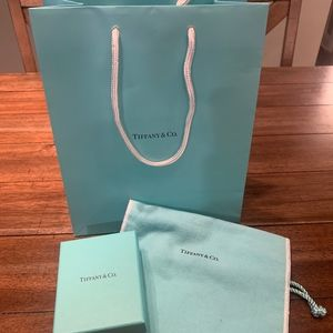 Tiffany & Co Shopping Bag, Jewelry Box & Dust Bag